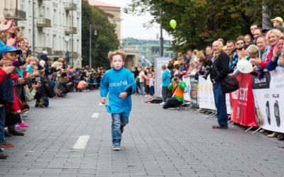 Šį sekmadienį, rugsėjo 3d., UNICEF vaikų bėgimas
